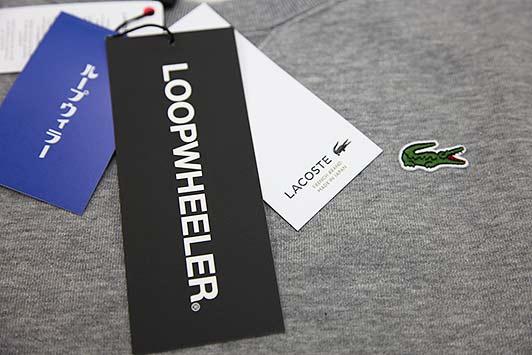 LACOSTE meets LOOPWHEELER